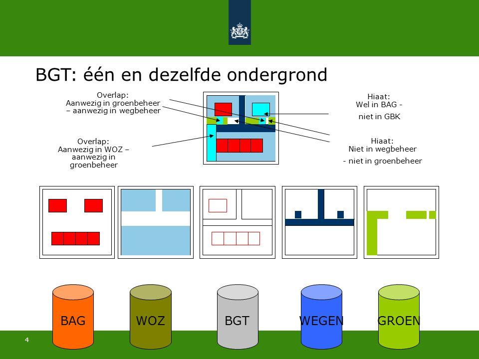 15 Meer informatie: www.BGTweb.nl T @BGT_online