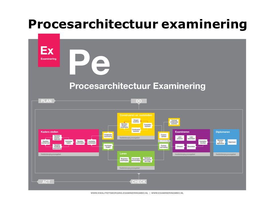 Procesarchitectuur examinering