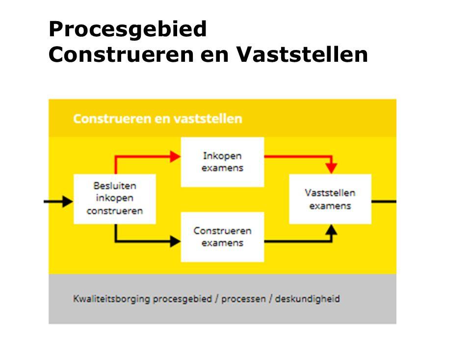 Procesgebied Construeren en Vaststellen