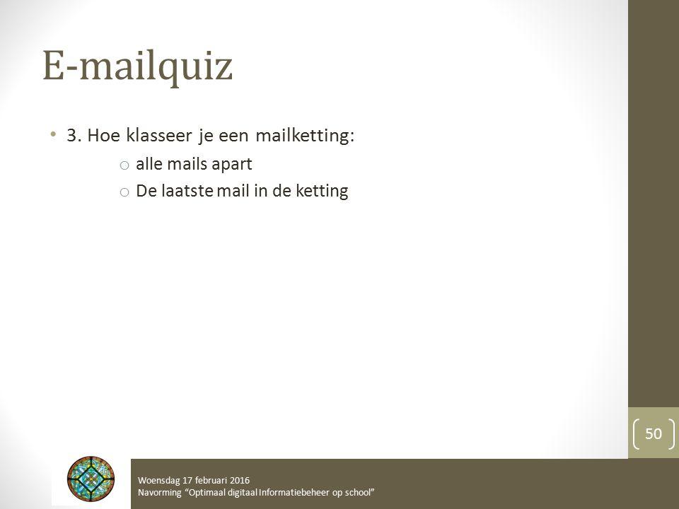 E-mailquiz 3.