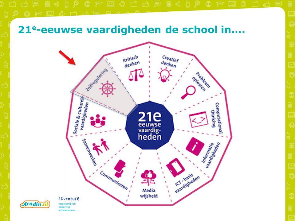21 e -eeuwse vaardigheden de school in….