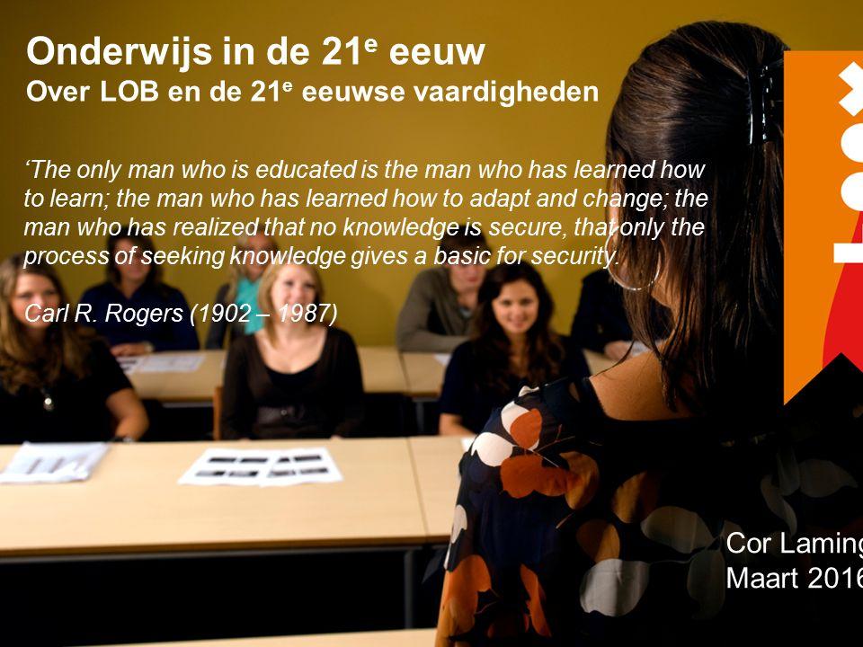 VISIE OP EIGENTIJDS BEROEPSONDERWIJS Docenten spreken: 65 % tegen deelnemers 21 % over deelnemers Conclusie: reflectieve dialoog ontbreekt in het MBO Oplossing: reflectieve dialoog organiseren op basis van beheerste samenwerking 9 % met deelnemers ( Naar onderzoek van Meijers, F.