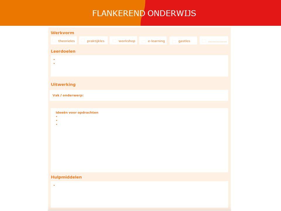 FLANKEREND ONDERWIJS