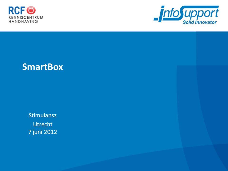 SmartBox Stimulansz Utrecht 7 juni 2012