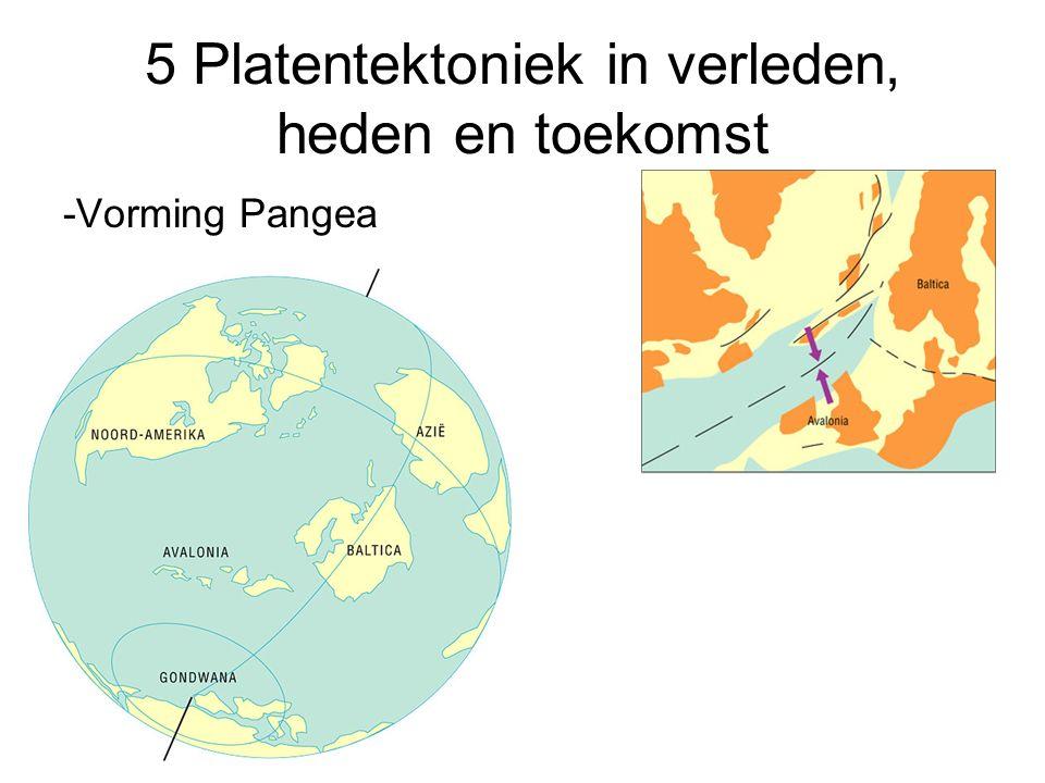 5 Platentektoniek in verleden, heden en toekomst -Vorming Pangea