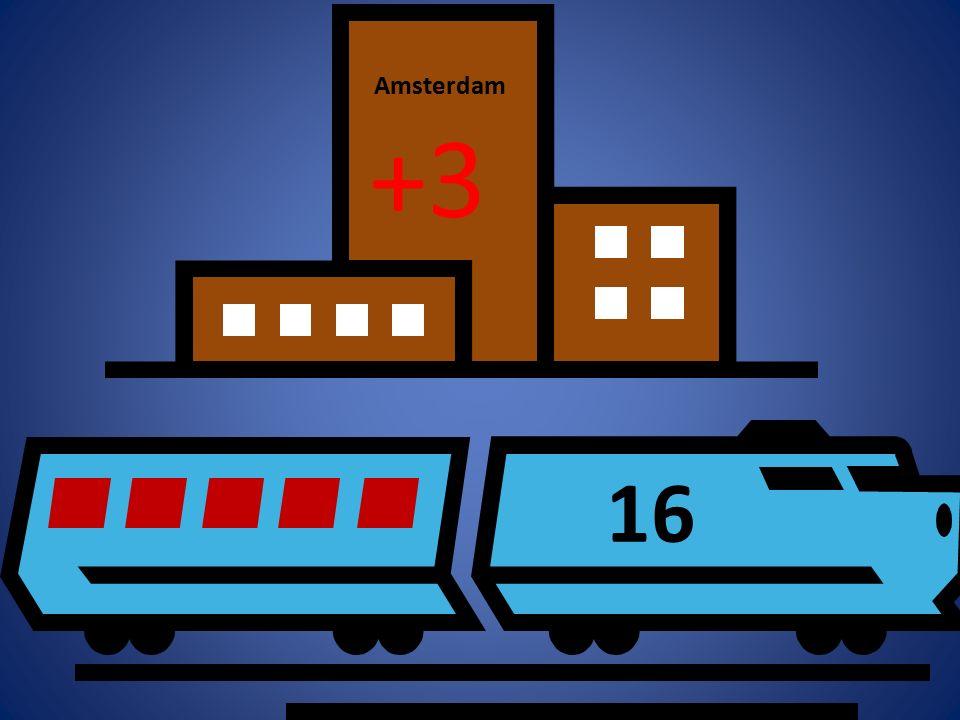 16 +3 Amsterdam
