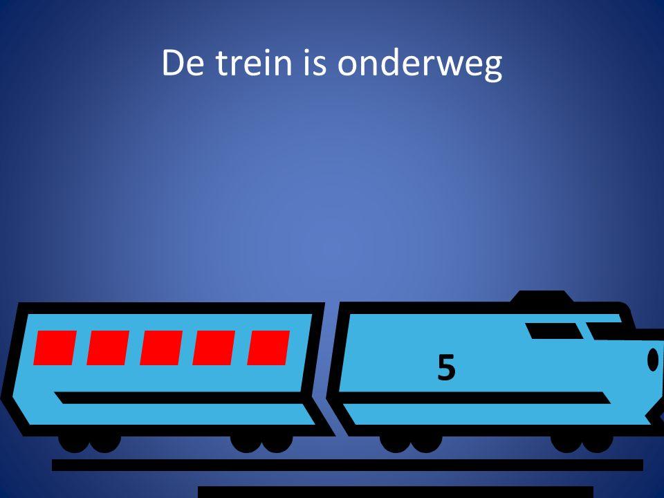 De trein is onderweg 5
