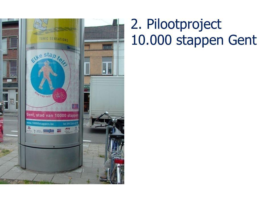 2. Pilootproject 10.000 stappen Gent
