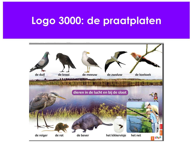Logo 3000: de praatplaten
