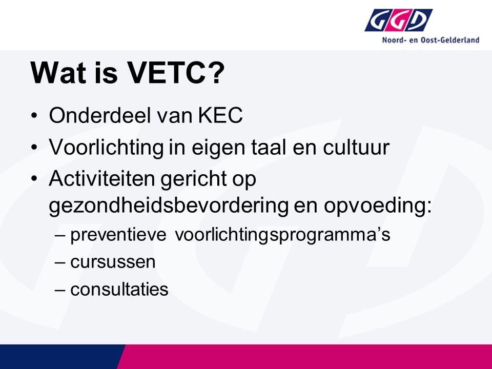 Wat is VETC.