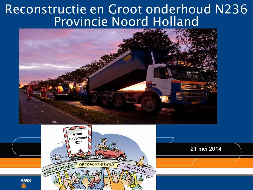 N236 Fase 1: reconstructie (brom)fietspaden 26 mei t/m 6 juli (week 22 t/m 27) Verlengd Buitenveer Prinses Irenelaan C.J.