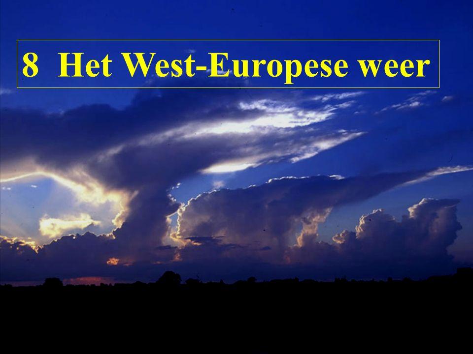 8 Het West-Europese weer