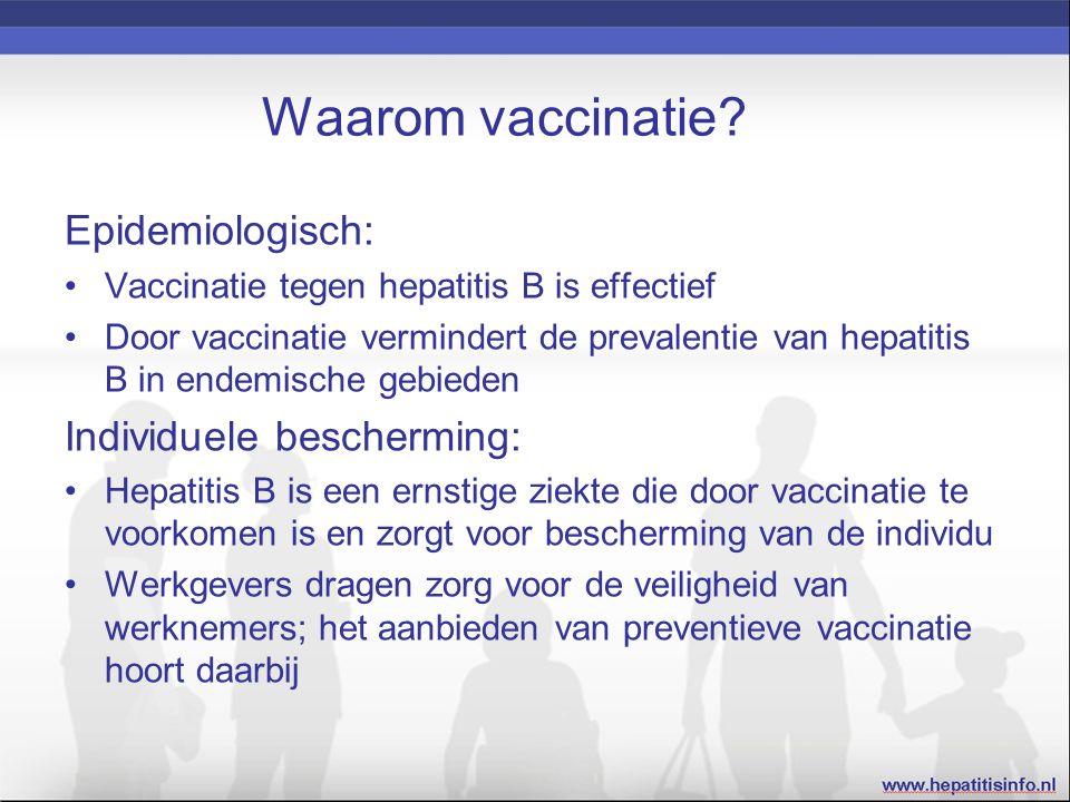 Waarom vaccinatie.