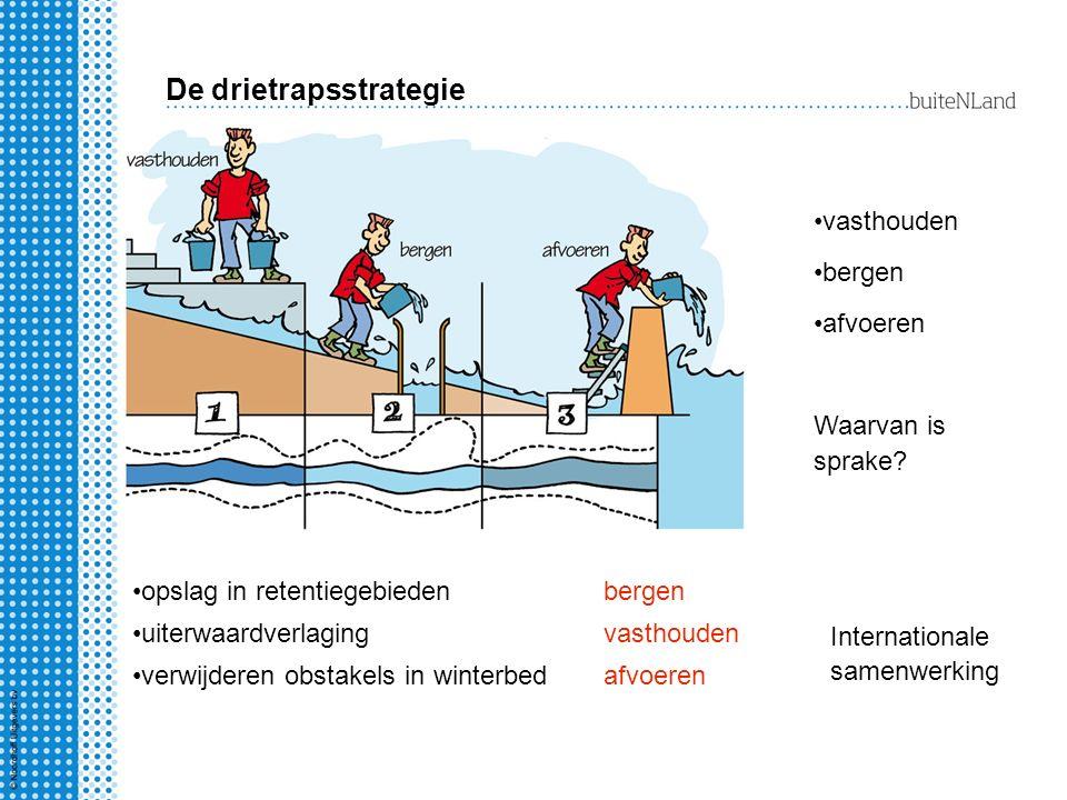 Nieuw beleid Om overstromingen te voorkomen moeten we de rivieren weer meer ruimte geven.