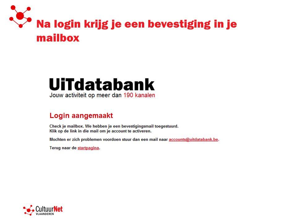 www.UiTdatabank.be Aan de slag…