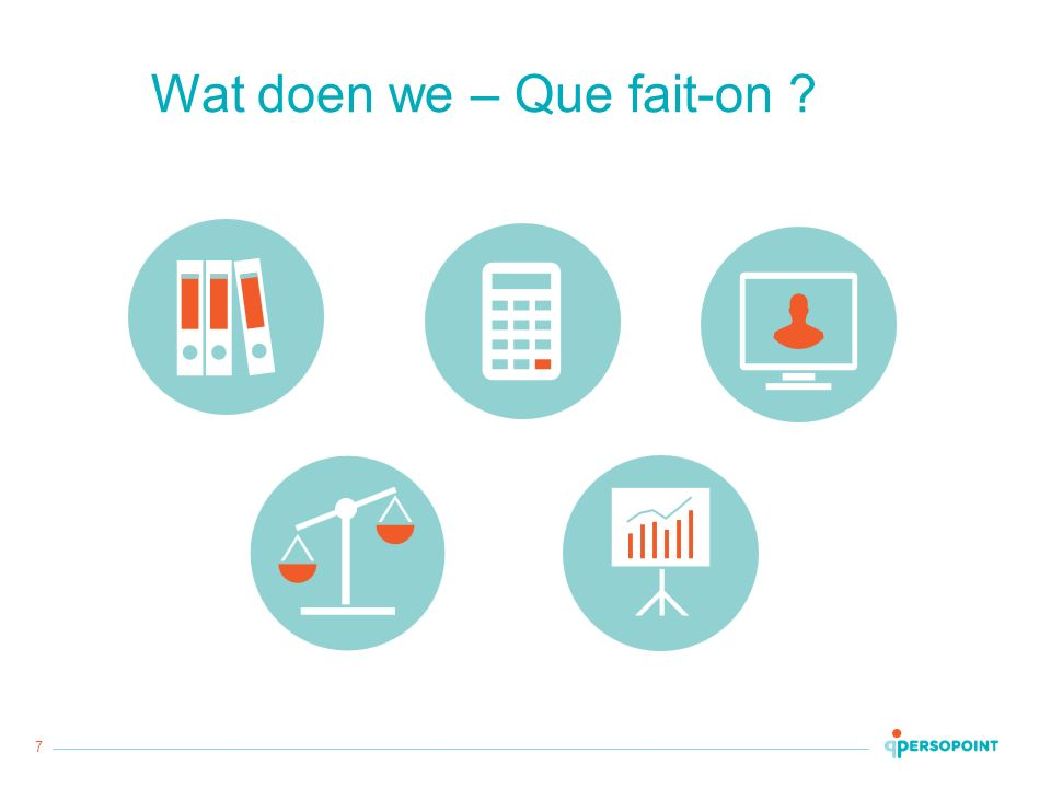 7 Wat doen we – Que fait-on