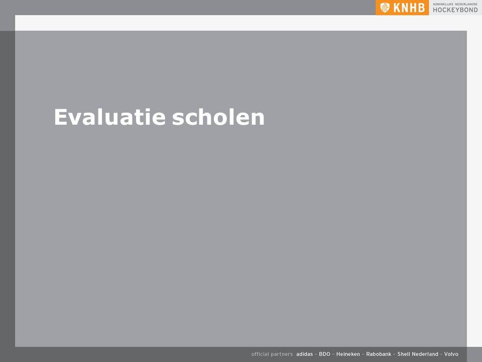 Evaluatie scholen