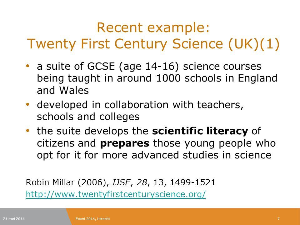 Overbrengen op leraren in opleiding Vrij nieuw concept om het leren van leerlingen zo te beschouwen.