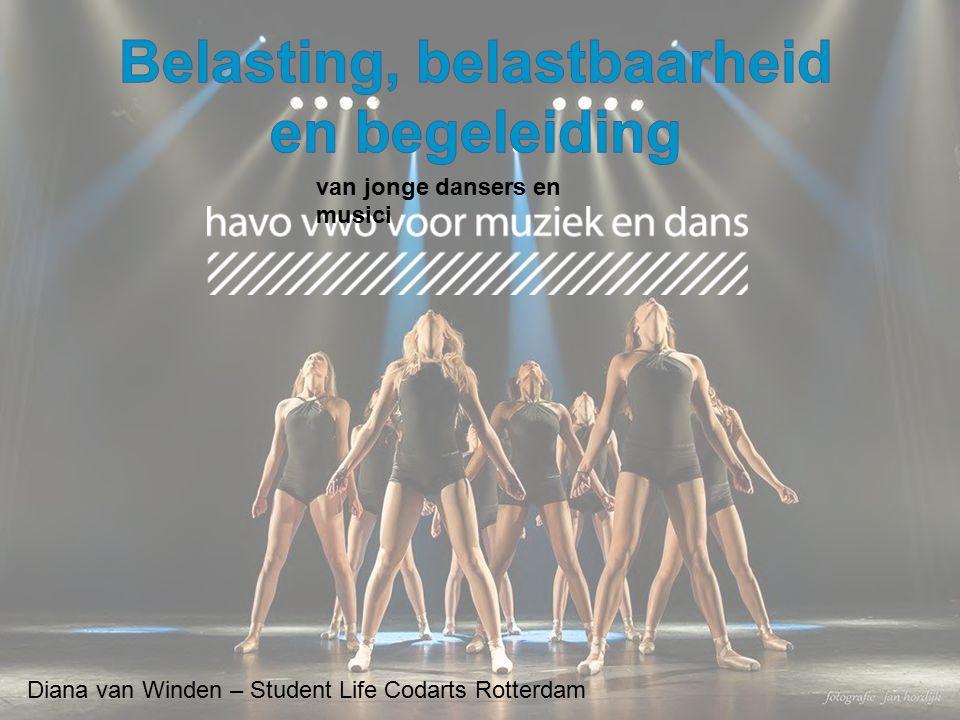 Diana van Winden – Student Life Codarts Rotterdam van jonge dansers en musici