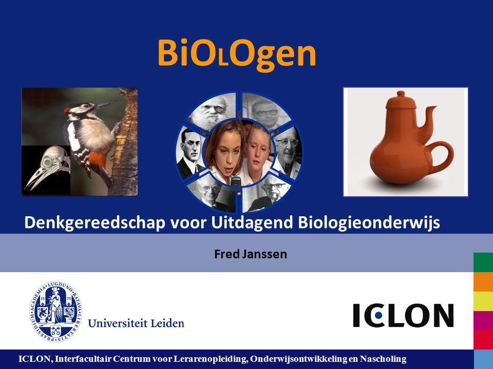 Leiden University. The university to discover. ICLON, Interfacultair Centrum voor Lerarenopleiding, Onderwijsontwikkeling en Nascholing BiO L Ogen Fre