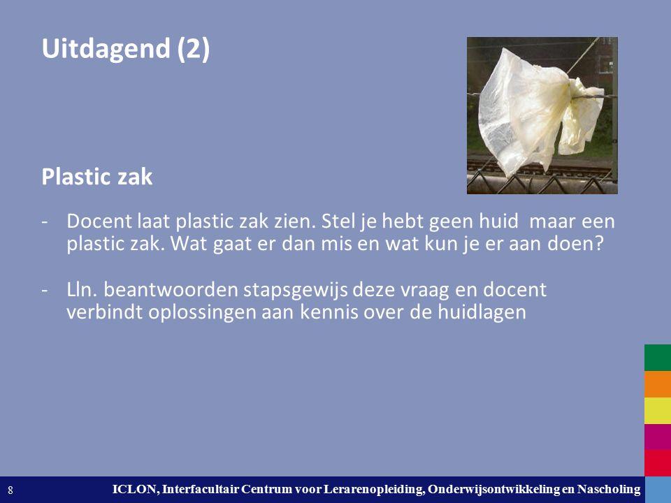Leiden University. The university to discover. ICLON, Interfacultair Centrum voor Lerarenopleiding, Onderwijsontwikkeling en Nascholing 8 Uitdagend (2