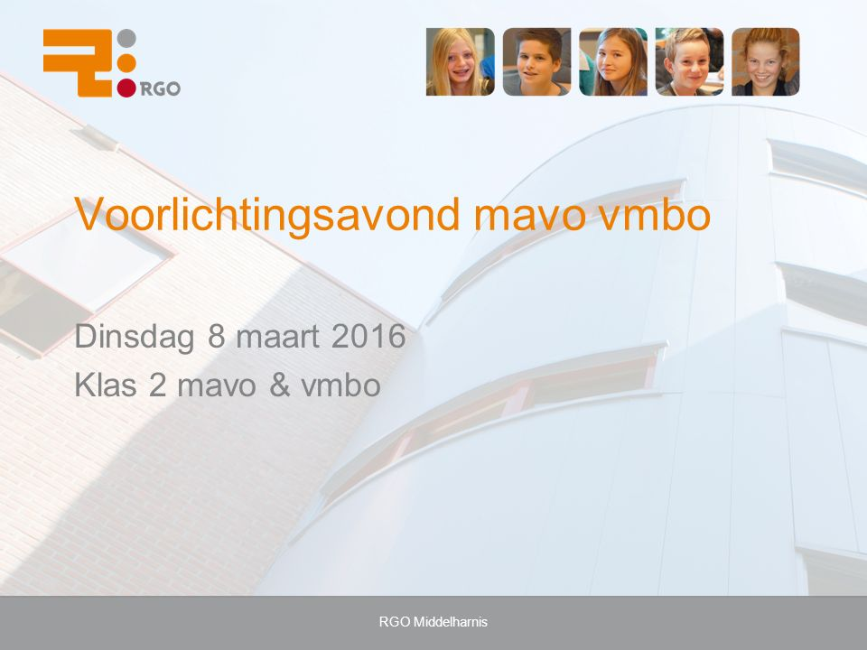 AGENDA Welkom Bevordering eind 2 e klasMevr.E. Mulder-Hanse teamleider onderbouw E&O + D&PDhr.