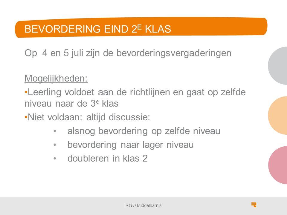 MAVO/VMBO (DE LEERWEGEN) MAVO (vmbo theoretische leerweg) vervolg MBO 3/4 of HAVO klas 4 MAVO (vmbo gemengde leerweg) vervolg MBO niveau 3/4 Verschil theoretische en gemengde leerweg; Beroepsgericht vak D&P www.vernieuwingvmbo.nl RGO Middelharnis