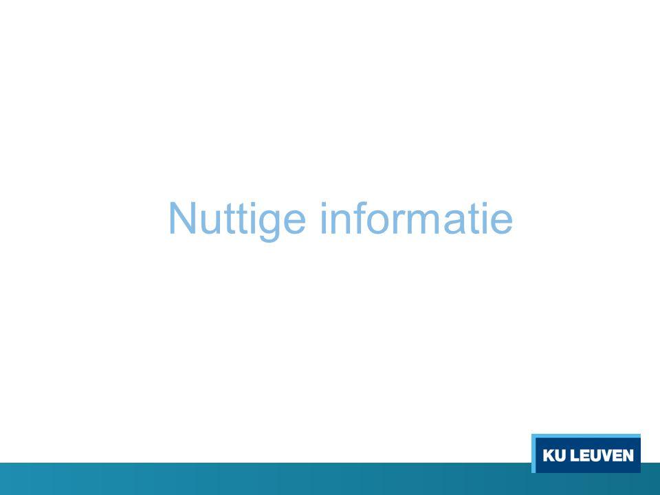 Nuttige informatie