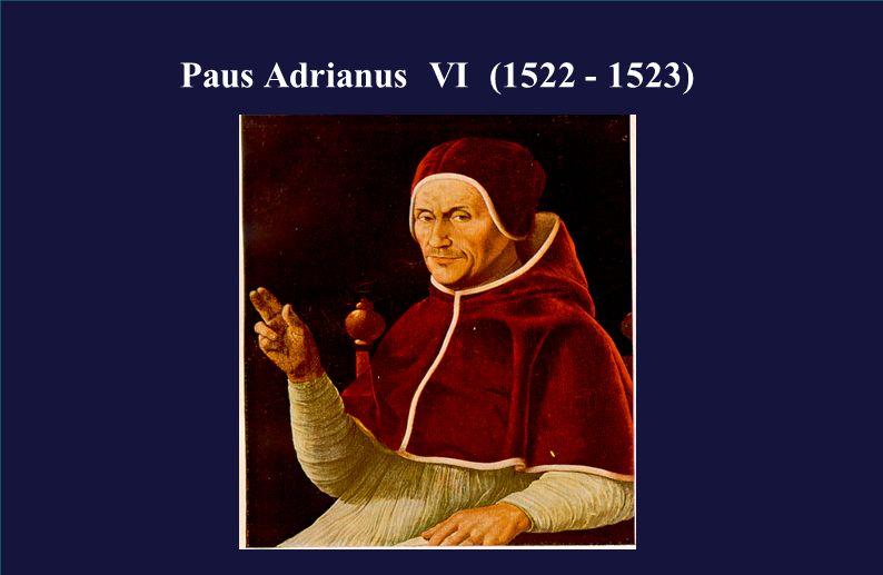 pagina 2 Paus Adrianus VI (1522 - 1523)