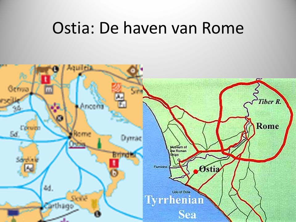 Ostia: De haven van Rome