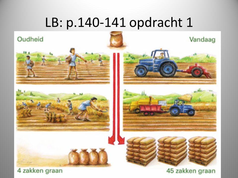 LB: p.140-141 opdracht 1