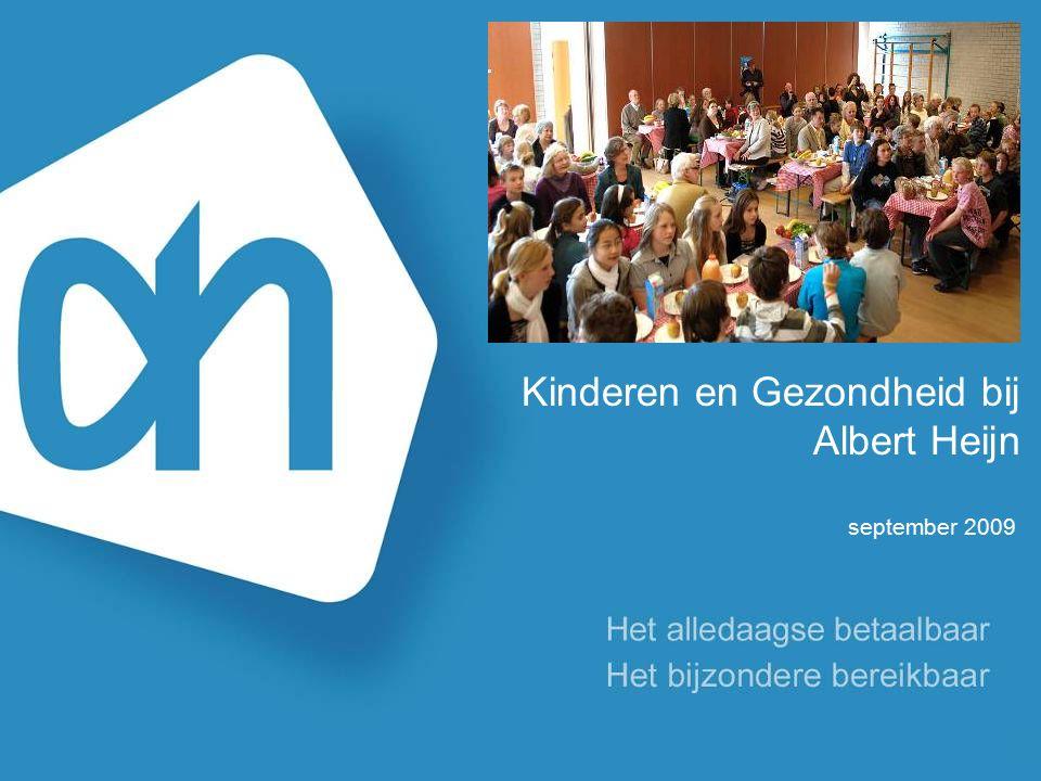 Kinderen en Gezondheid bij Albert Heijn september 2009