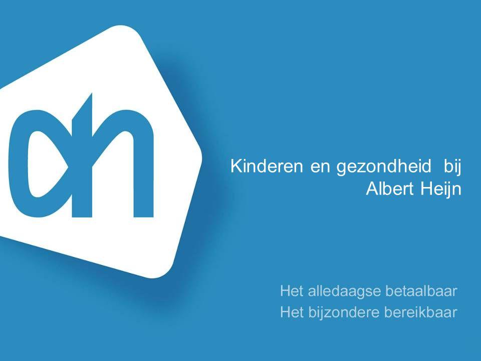Kinderen en gezondheid bij Albert Heijn