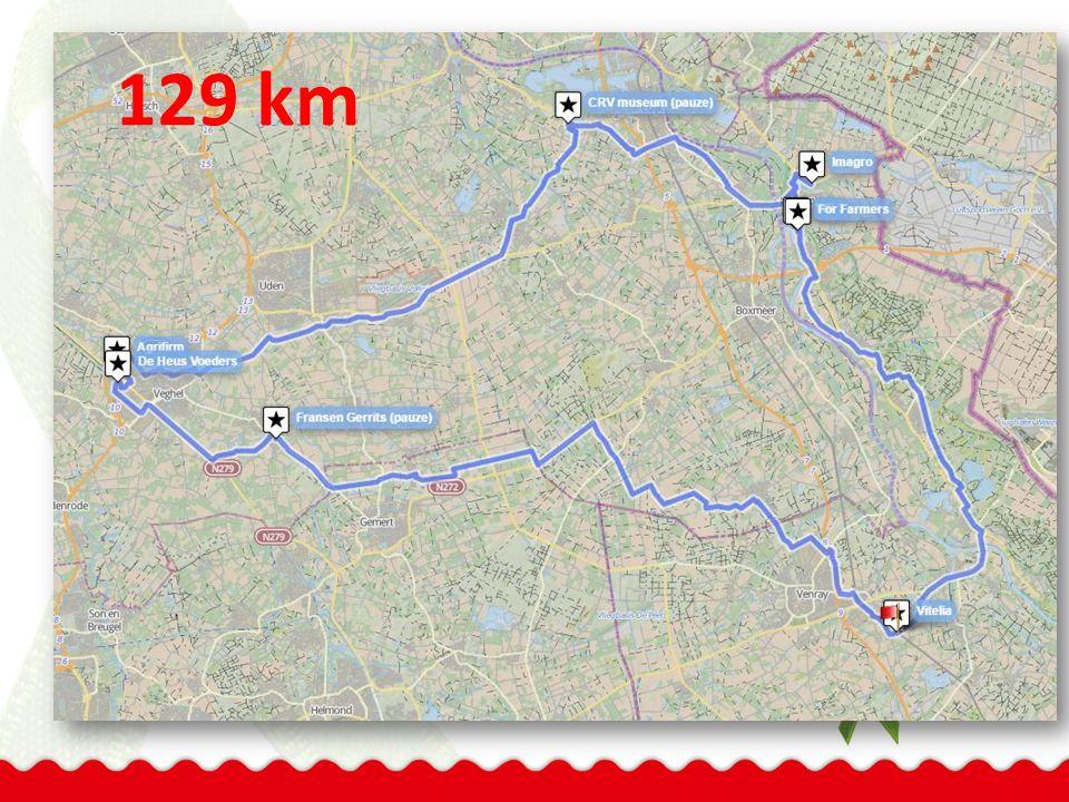 129 km