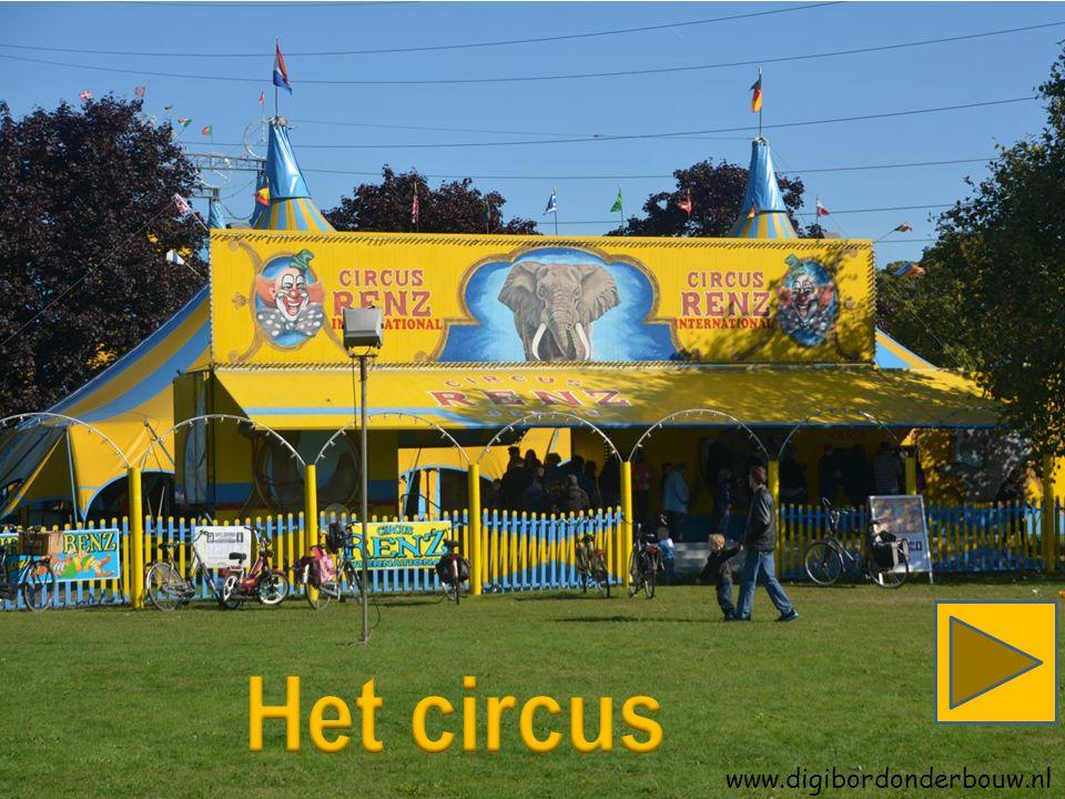 Het is weer zover.Het circus is voor een paar dagen in de stad.