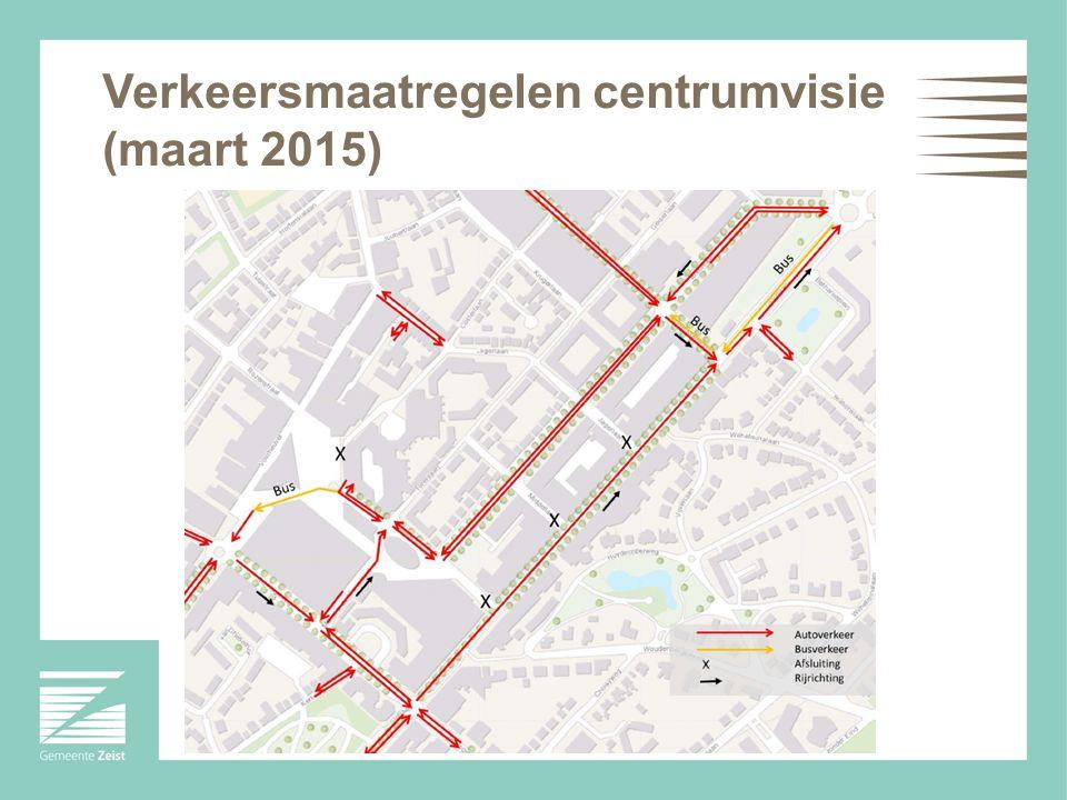 Verkeersmaatregelen centrumvisie (maart 2015)