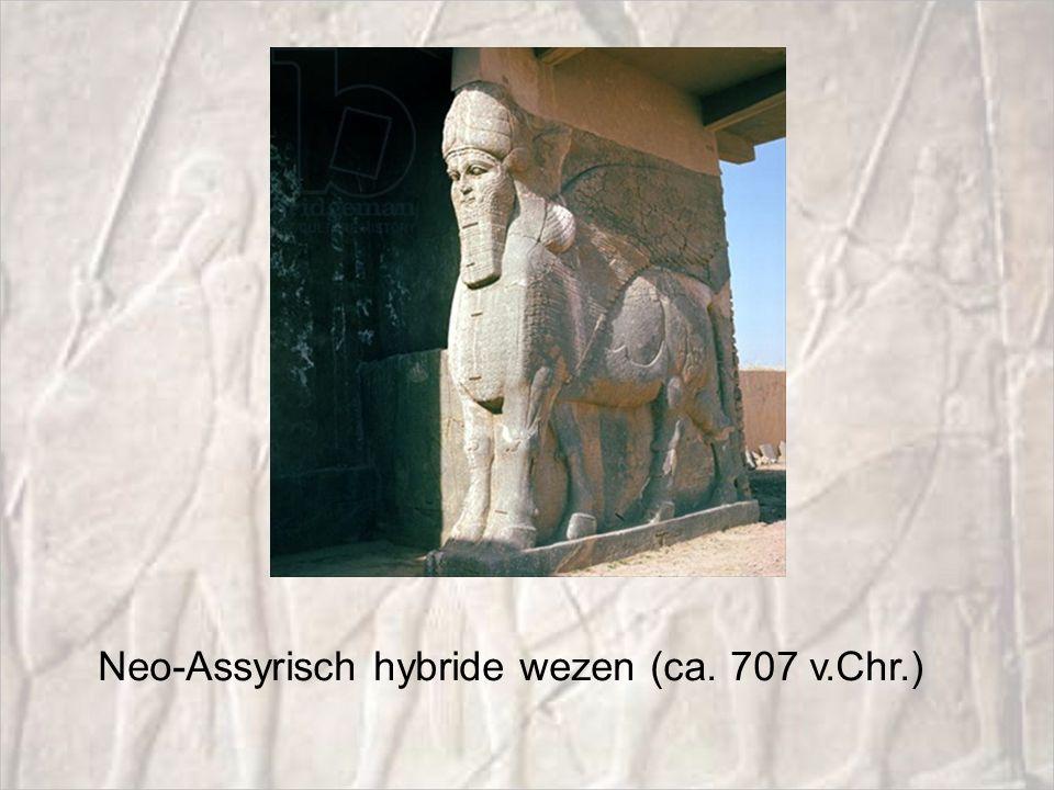 Neo-Assyrisch hybride wezen (ca. 707 v.Chr.)