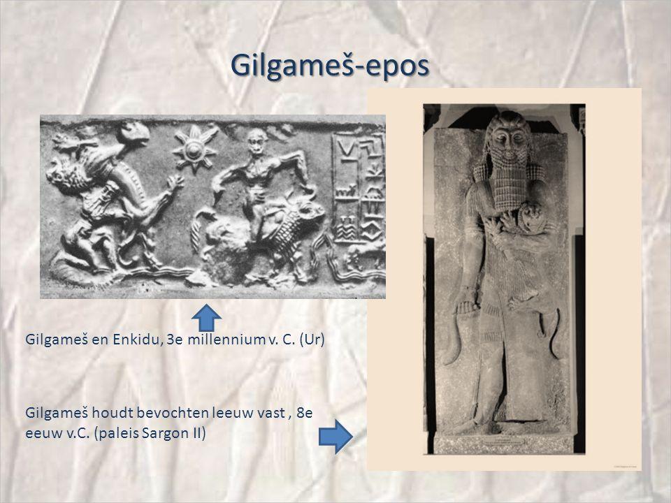 Gilgameš-epos Gilgameš en Enkidu, 3e millennium v.