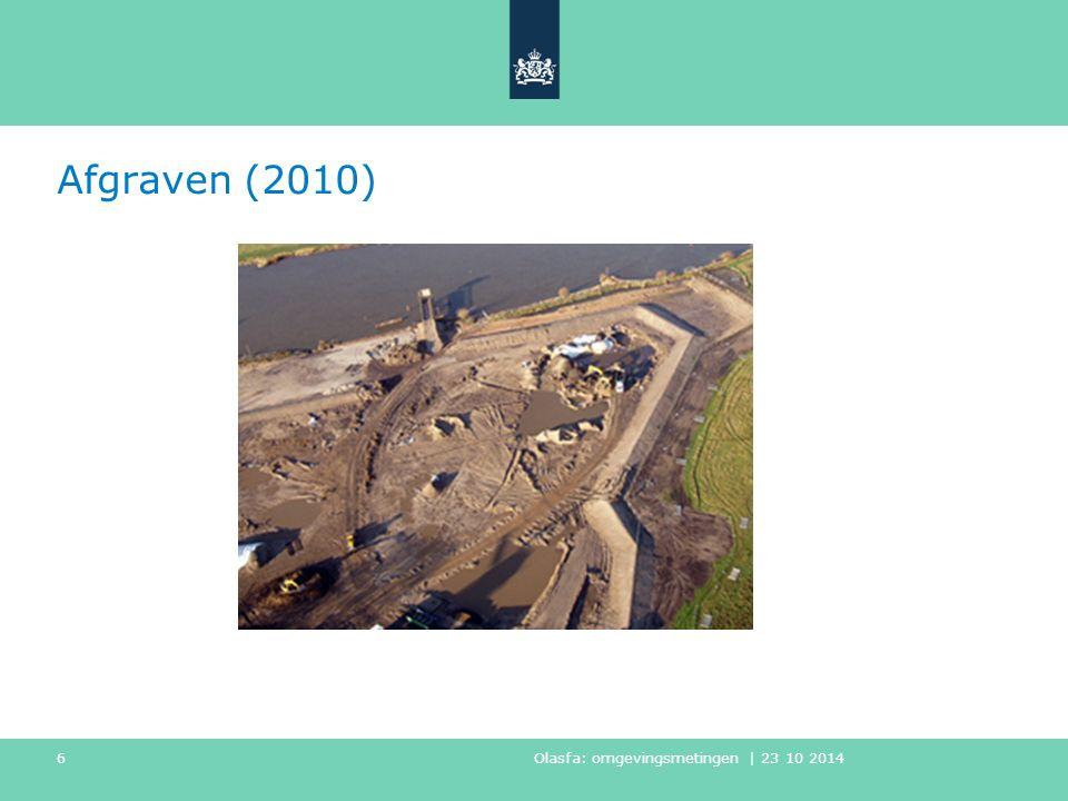 Afgraven (2010) Olasfa: omgevingsmetingen | 23 10 2014 6
