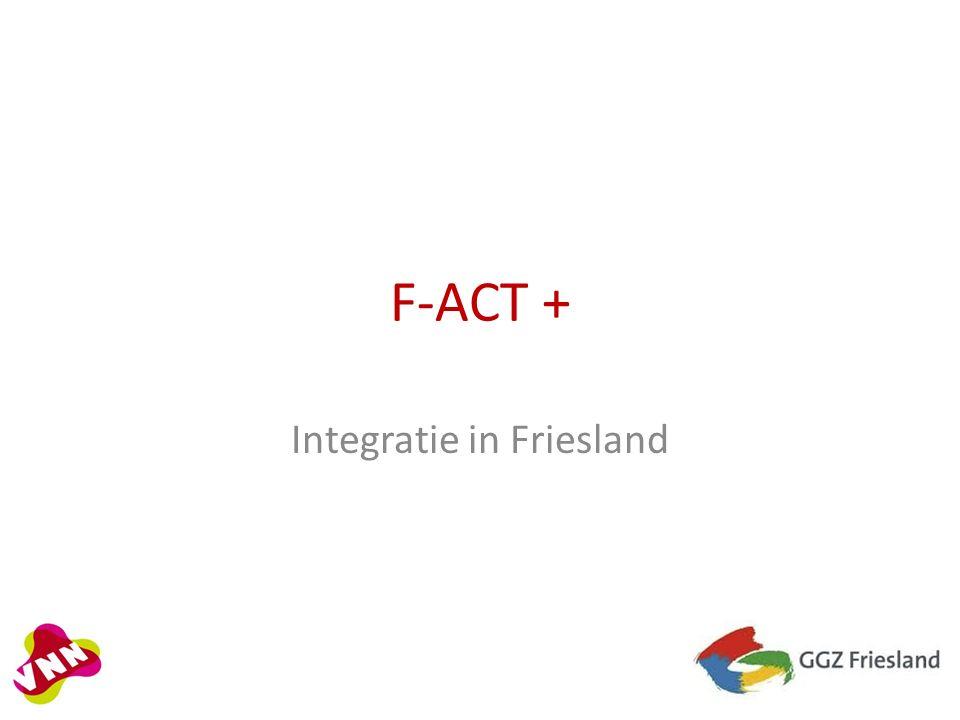 F-ACT + Integratie in Friesland
