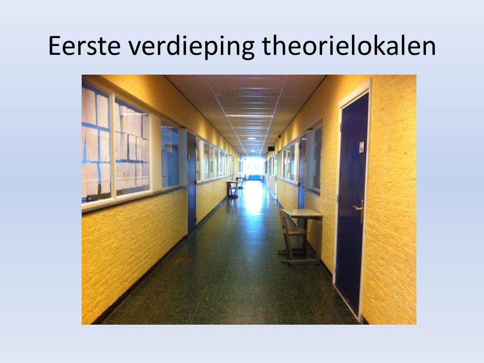 Eerste verdieping theorielokalen