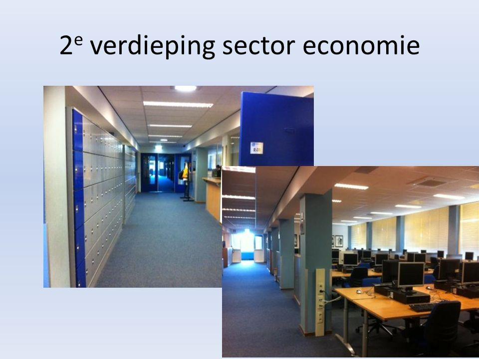 2 e verdieping sector economie
