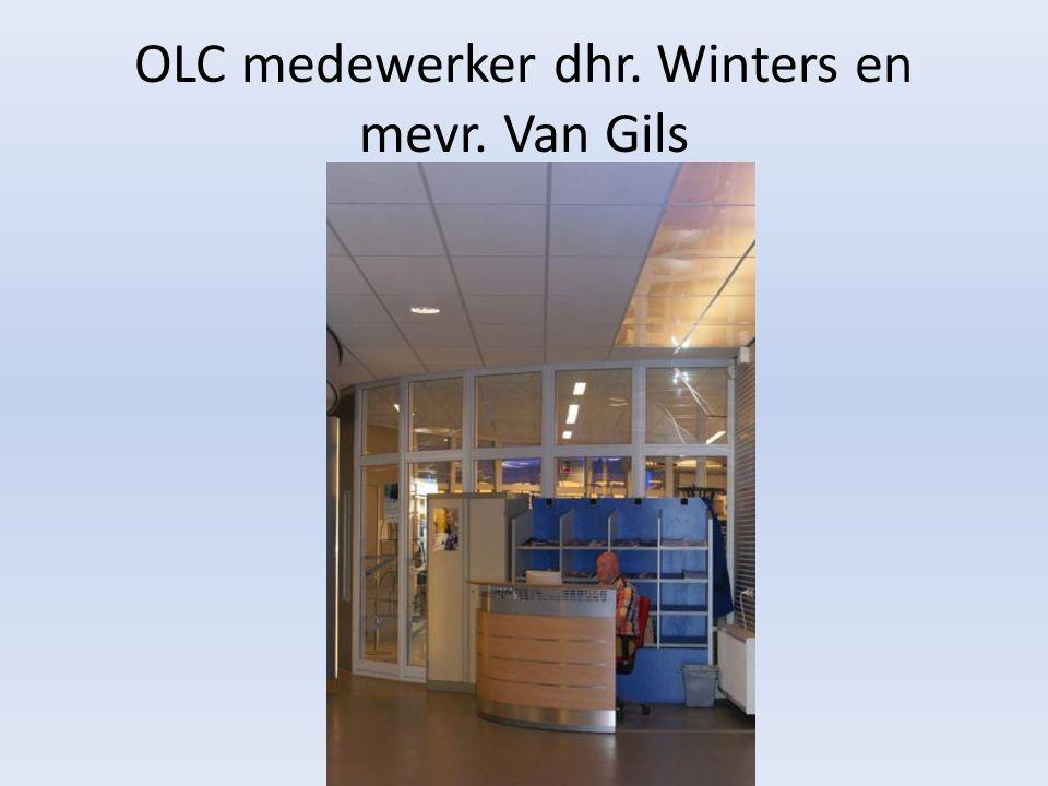 OLC medewerker dhr. Winters en mevr. Van Gils