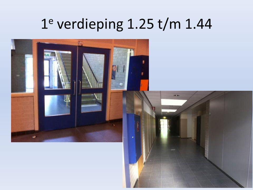 1 e verdieping 1.25 t/m 1.44