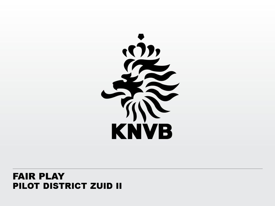 FAIR PLAY PILOT DISTRICT ZUID II