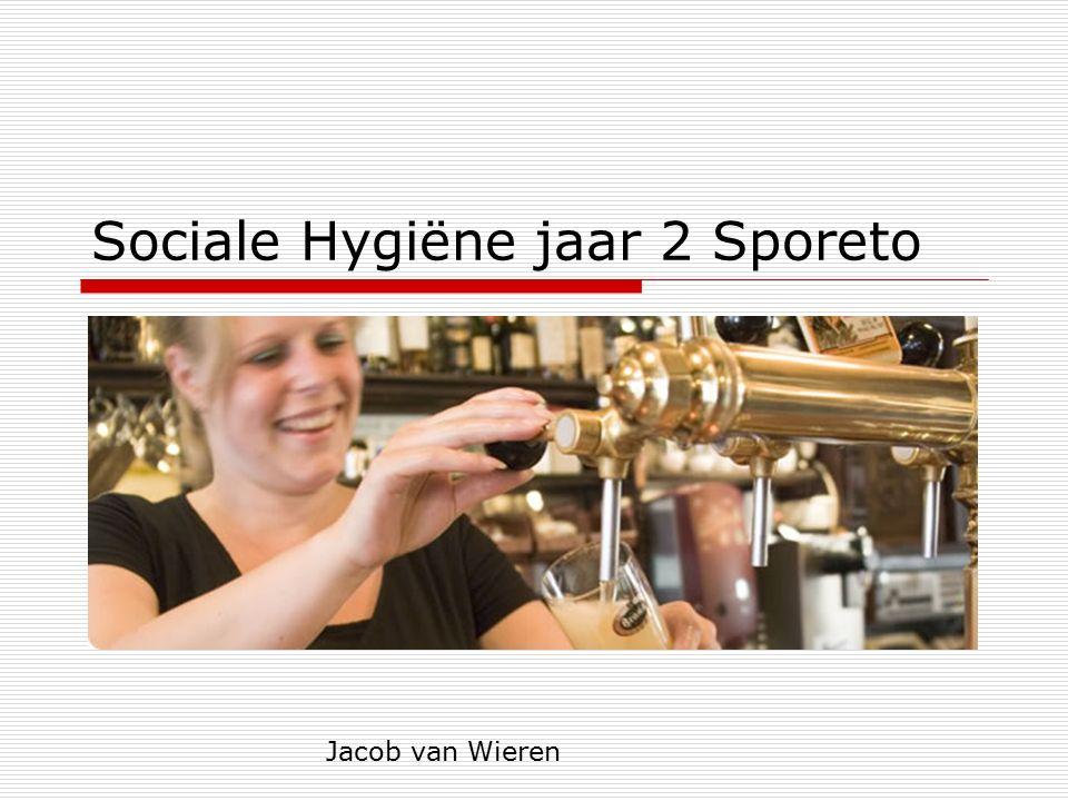 Sociale Hygiëne jaar 2 Sporeto Jacob van Wieren