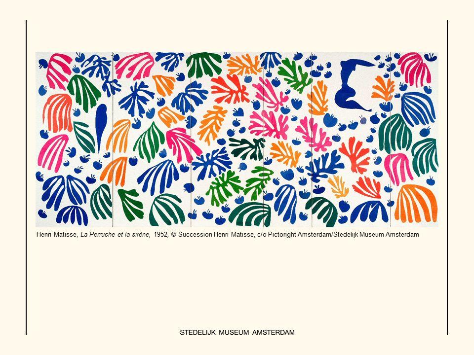 Henri Matisse, La Perruche et la sirène, 1952, © Succession Henri Matisse, c/o Pictoright Amsterdam/Stedelijk Museum Amsterdam