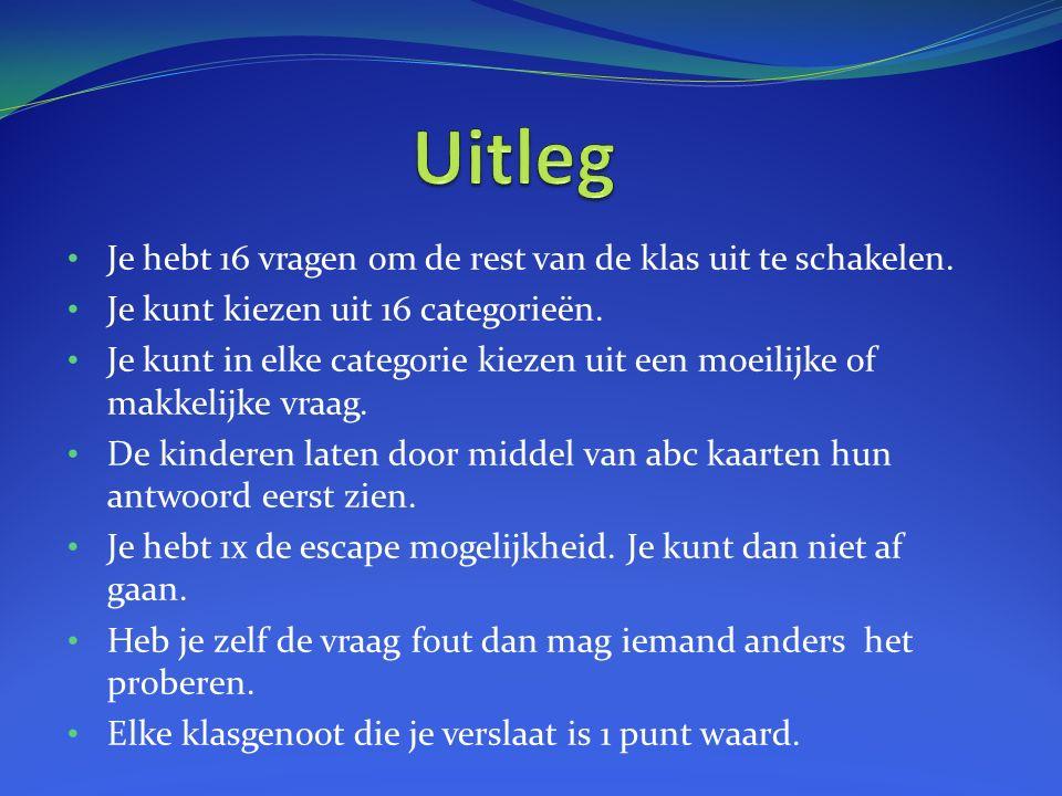 Welk eiland is dit? a) Vlieland b) Terschelling c) Texel ESC