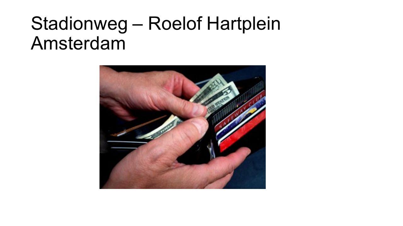 Stadionweg – Roelof Hartplein Amsterdam