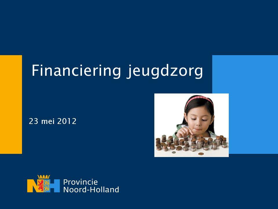 Financiering jeugdzorg 23 mei 2012